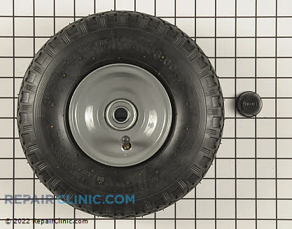 Wheel Assembly, Briggs & Stratton Genuine OEM  192526GS