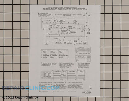 Wiring Diagram (OEM)  134061500 - $7.70