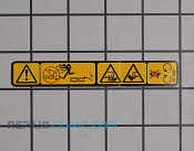 Decal - Part # 1636417 Mfg Part # 93-7009