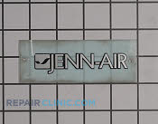 Nameplate - Part # 1546991 Mfg Part # W10190724