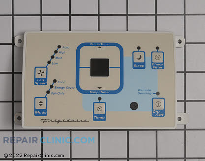 Frigidaire Control Panel with Overlay