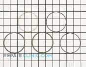 Piston Ring Set - Part # 1735307 Mfg Part # 13008-6016