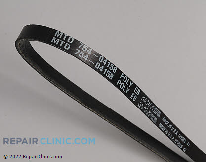 Belt: V-Belt (Genuine OEM)  954-04158