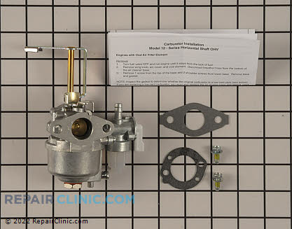 Carburetor, Briggs & Stratton Genuine OEM  698558