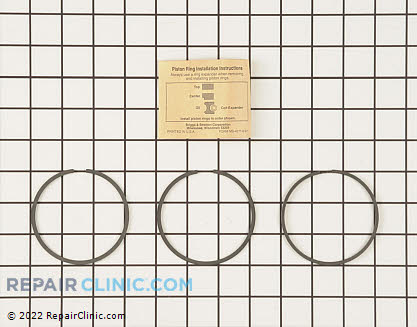 Piston Ring Set, Briggs & Stratton Genuine OEM  698430