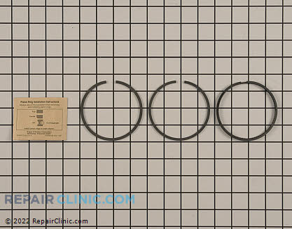 Piston Ring Set, Briggs & Stratton Genuine OEM  495851