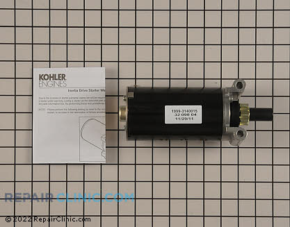Starter Motor, Kohler Engines Genuine OEM  32 098 04-S