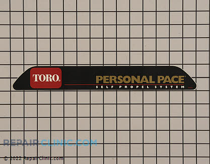 Logo, Toro Genuine OEM  105-8613