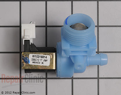 Water Inlet Valve (OEM)  W10316814