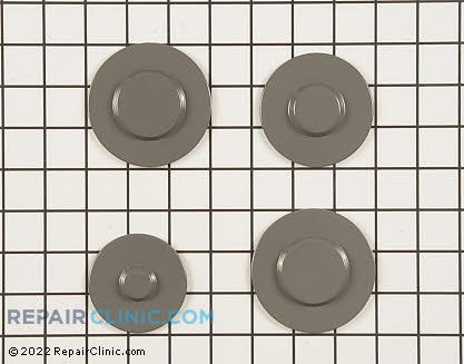 Surface Burner Cap (OEM)  W10165810