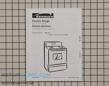 Kenmore Oven Owner's Manual