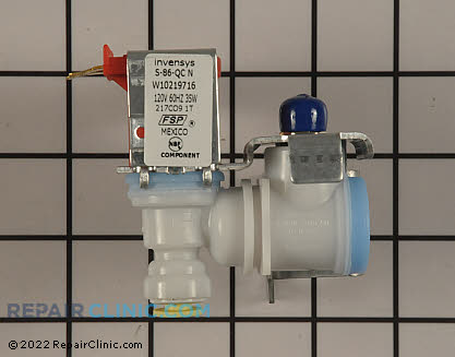Water Inlet Valve W10219716       Main Product View
