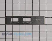 Nameplate - Part # 1165755 Mfg Part # 5304452370
