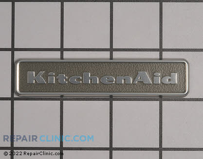 Nameplate W10243391 Main Product View