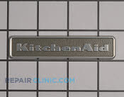 Nameplate - Part # 1873079 Mfg Part # W10243391