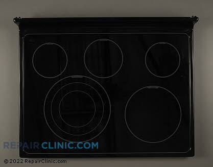 Glass Cooktop W10441396 Main Product View