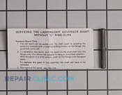 Governor Shaft - Part # 1658920 Mfg Part # 30574A