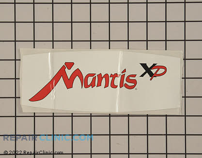 Mantis Tiller Decals and Labels