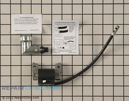 Ignition Coil, Briggs & Stratton Genuine OEM  590455