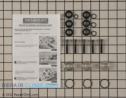 Seal Kit, Briggs & Stratton Genuine OEM  190636GS - $37.95