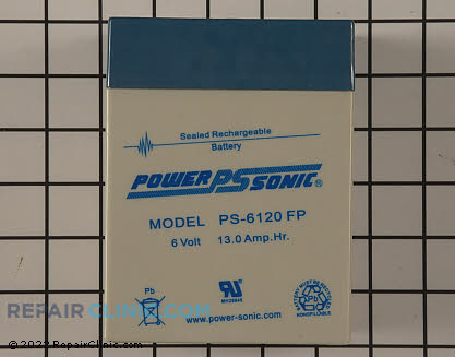 Battery, Toro Genuine OEM  33-6650