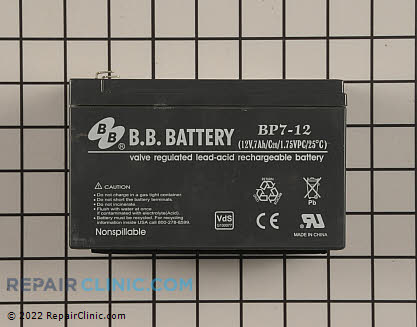 Battery 106-1905 Main Product View