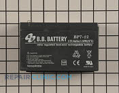 Battery - Part # 2142250 Mfg Part # 106-1905