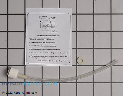 Fuel Line, Toro Genuine OEM  682039