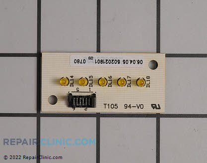Eurotech Washing Machine Control Board