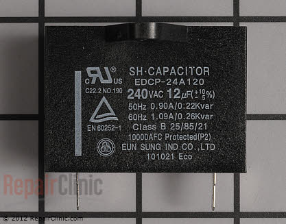 Capacitor (OEM)  0CZZJB2014L - $10.00
