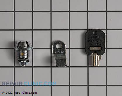 Door Key W10114740 Main Product View