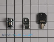 Door Key - Part # 1447813 Mfg Part # W10114740