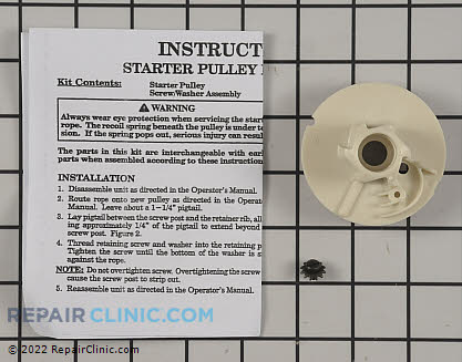 Recoil Starter Pulley (Genuine OEM)  530069288