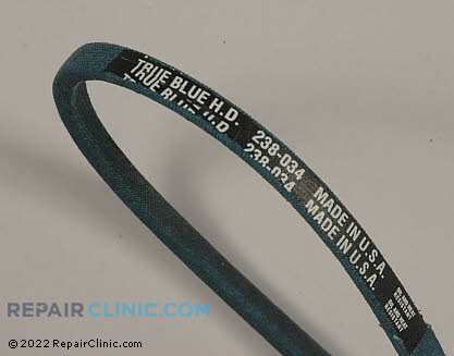 Belt: V-Belt 238-034 Main Product View