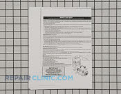 Service Tech Sheet - Part # 958998 Mfg Part # 316218504