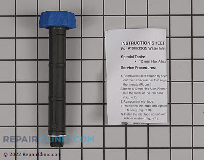 Kit  water inlet  anodized 190588GS Main Product View