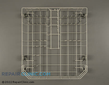 Admiral Dishwasher Lower Dishrack Assembly