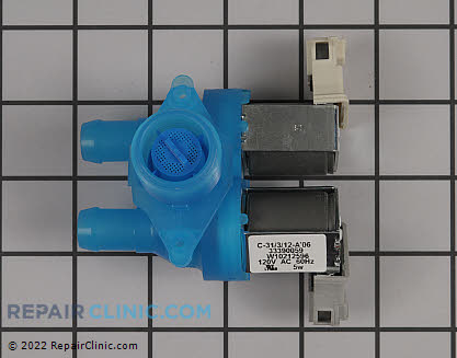 Water Inlet Valve (OEM)  W10212596, 1551647