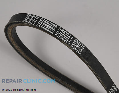 Belt: V-Belt, Ariens Genuine OEM  07223800