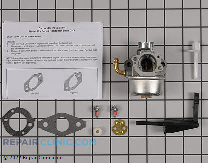 Carburetor, Briggs & Stratton Genuine OEM  591299 - $58.25