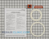 Gasket - Part # 2356514 Mfg Part # 320887-751
