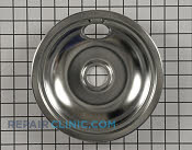 8 Inch Burner Drip Bowl - Part # 438 Mfg Part # 316048413