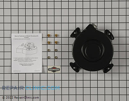 Recoil Starter, Briggs & Stratton Genuine OEM  393576