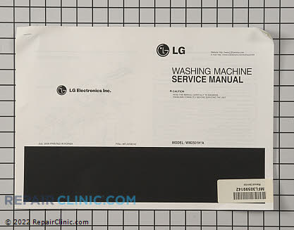 Repair Manual MFL30599142     Main Product View