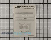 Owner's Manual - Part # 2072840 Mfg Part # DC68-02830A