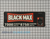 Label-logo - Part # 1956106 Mfg Part # 940752003