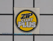 Label,zip start - Part # 1955766 Mfg Part # 940627006