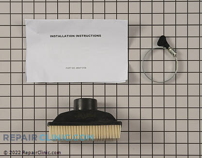 Air Filter Kit, Kawasaki Genuine OEM  99999-0383 - $12.55