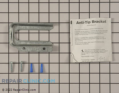 Anti-Tip Bracket (OEM)  W10017440