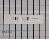 Nameplate - Part # 1172902 Mfg Part # S99090881